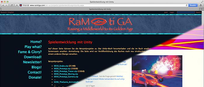Noch im alten Jahr: Neue Website